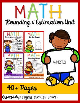 Estimation & Rounding Unit: Assessments, Activities, Math