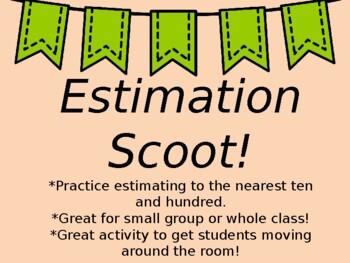 Estimation Scoot Game!