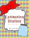 Estimation Station {Estimation, Graphs, Story Problems}