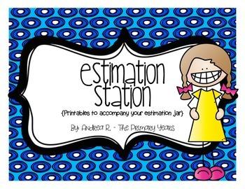 Estimation Station Printables