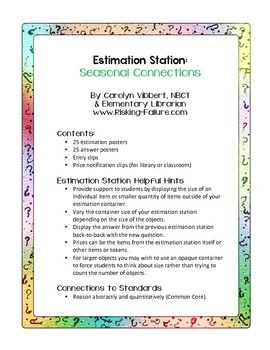 Estimation Stations: Seasonal Connections