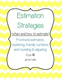 Estimation Strategies