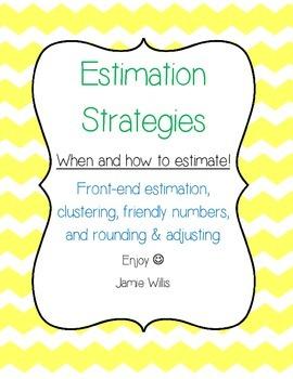 Estimation Strategies