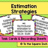 Estimation Strategies Task Cards