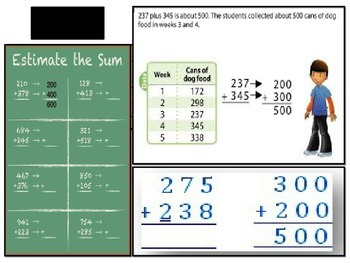 Estimation: Sums and Differences Bundle