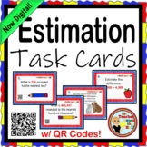 ESTIMATE - Estimation Task Cards w/ QR Codes