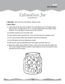 Estimation (Ten-Minute Activities)