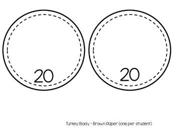 Estimation Turkey Craftivity