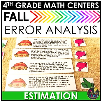 Fall Estimation Word Problems Game