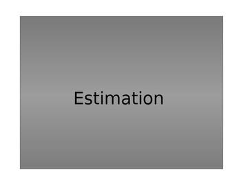 Estimation and Compatible numbers