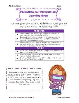Estimation and Computation Learning Model
