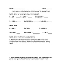 Estimation and Multiplying by Multiples of 10s Review