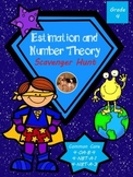 Estimation and Number Theory Scavenger Hunt - Math in Focu