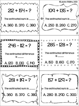 Estimation and Rounding