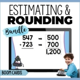 Estimation and Rounding Digital Task Cards Bundle