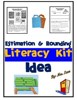 Estimation and Rounding Literacy Kit Idea