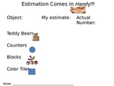 Estimation for First Grade