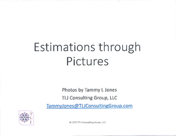 Estimations through Pictures 1