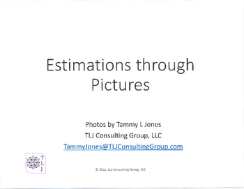 Estimations through Pictures 3