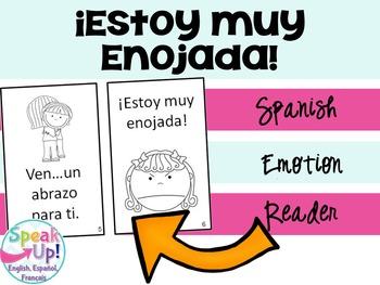 Estoy muy enojada  ~ Spanish Emotions Reader {en español}