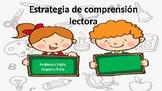 Estrategia de lecto - escritura Lenguaje figurado/ Reading and writing strategy