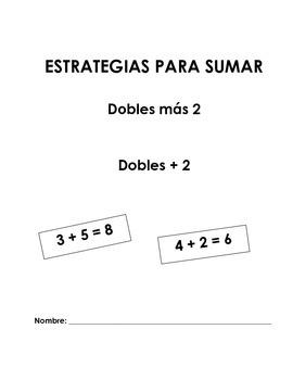 Estrategia sumar dobles más 2
