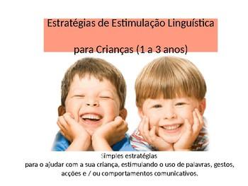Estratégias de Estimulação Linguística