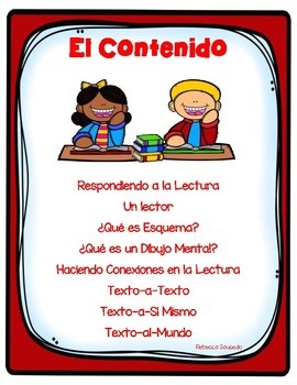 DUAL LANGUAGE-Schema, Mental Images,Text Connections Estrategias de Lectura