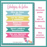 Estrategías de Lectura - Spanish reading strategies lesson