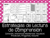 Estrategias de Lectura de Comprension. Reading Comprehension in Spanish.