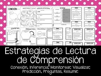 Estrategias de Lectura de Comprension. Reading Comprehension in Spanish.