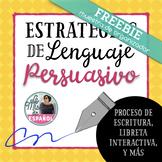 Estrategias de Lenguaje Persuasivo Organizador de Escritur