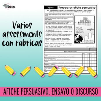 Escritura Persuasiva Ethos Pathos Logos Spanish Persuasive Writing Strategies