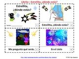 Estrellita Donde Estas - Twinkle Twinkle Little Star Booklets