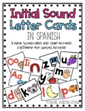 Estrellita Initial Sound Letter Cards in Spanish *Updated*