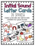 Estrellita Initial Sound Letter Cards in Spanish
