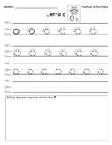 Estrellita Style Letter Practice