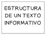 Estructura de un texto informativo