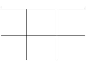 Estructura para crear Lapbook