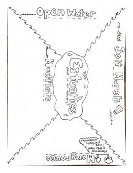 Estuaries Doodle Notes