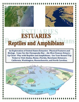 Estuaries of the United States: Reptiles & Amphibians (Fusion of Biology)