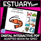 Estuary Biome- A DIGITAL Interactive Adapted Book for Science in Special Ed