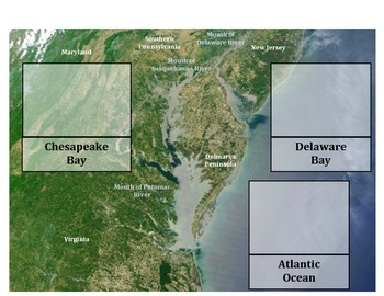 Estuary Identification and United States Mapping (Science Geography ...