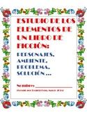 Estudio De Los elementos De Un Libro De Ficcion