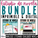 Estudio cualquier novela | Print and Digital BUNDLE