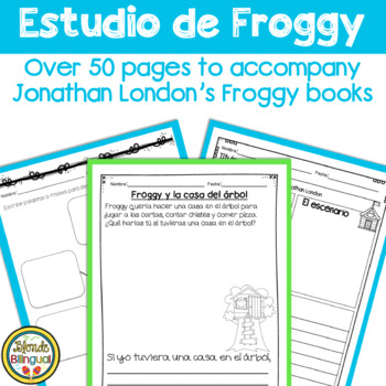 Estudio de Froggy ~ for Jonathan London's Froggy books in Spanish