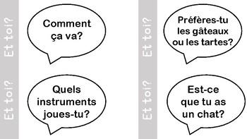 Et toi? Speaking/Listening in French