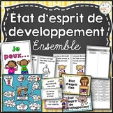 État d'esprit de développement - French Growth Mindset - Ensemble - Bundle