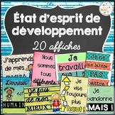 État d'esprit de développement - Mentalité de croissance -