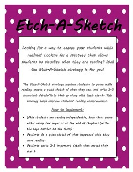 Etch-A-Sketch: Reading Comprehension Strategy